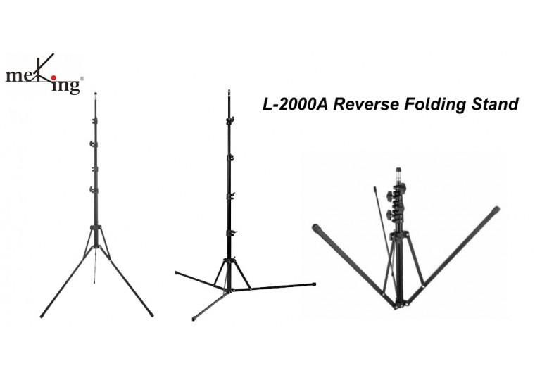 MeKing L-2000A Reverse Folding Light Stand