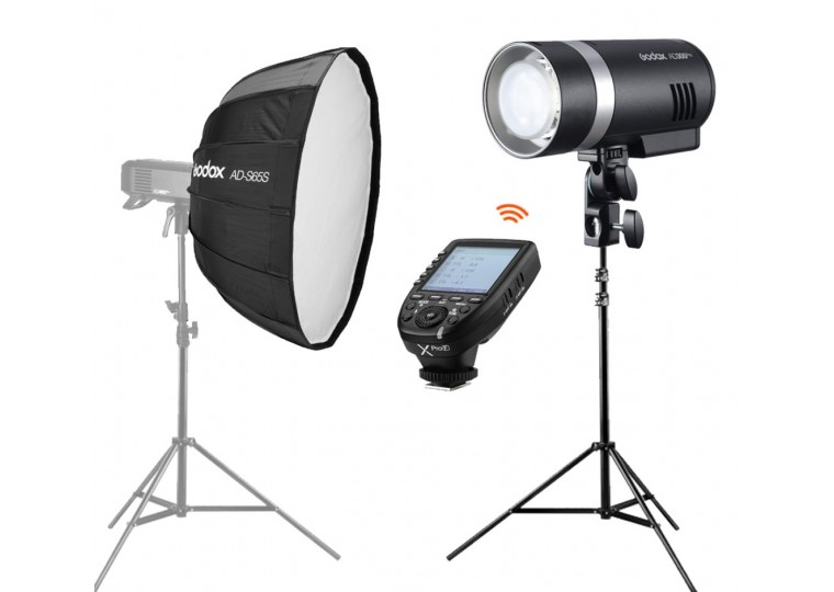 Godox AD300Pro Outdoor Flash Bundle