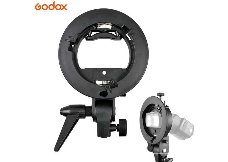 Godox S-Type Speedlite Bracket for TT350, TT685, V860II, AD200, AD200Pro