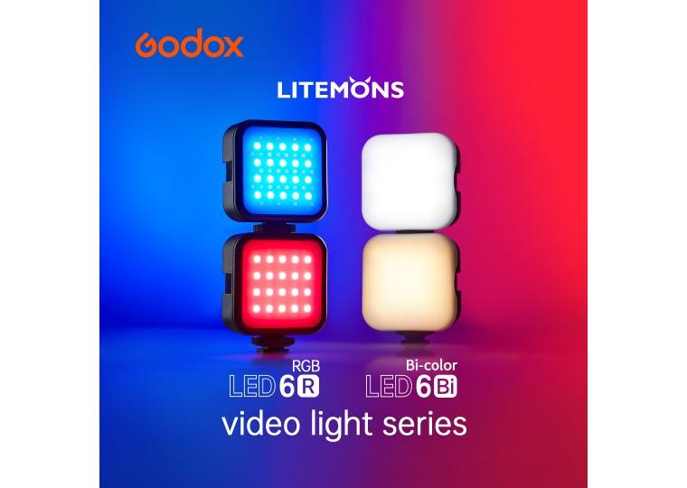 Godox Litemons LED6BI LED6R Pocket Size LED Video Light