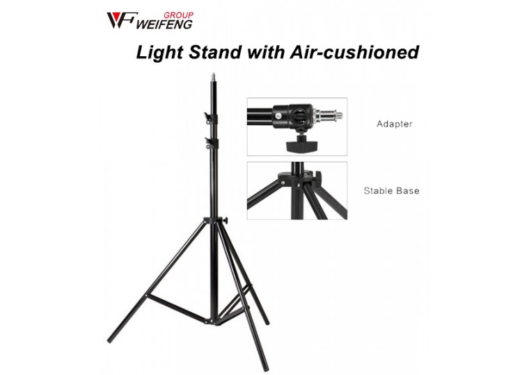 WeiFeng WT-806 WT-8051 Heavy Duty Light Stand with Air-cushioned