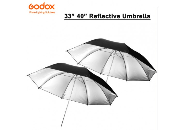 "Godox 33"" 40"" Reflective Umbrella"