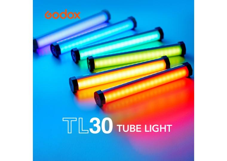 Godox TL30 Full-Color RGB LED Tube Light