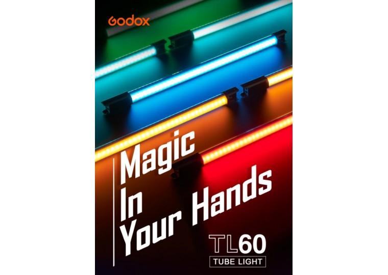 Godox TL60 Full-Color RGB Tube LED Light