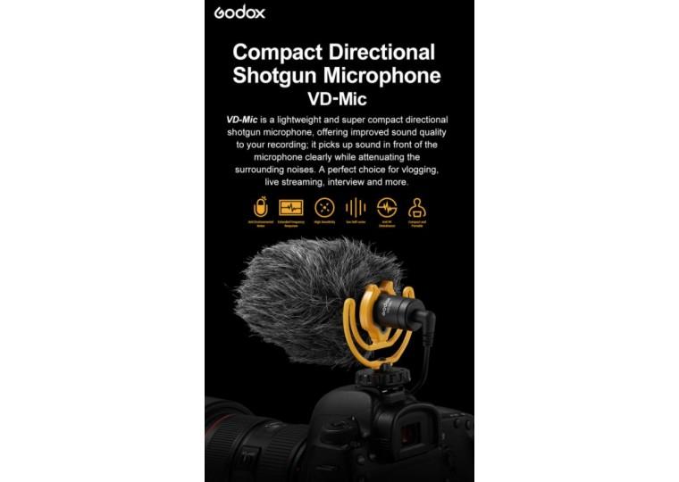 Godox VD-Mic Directional Shotgun Microphone