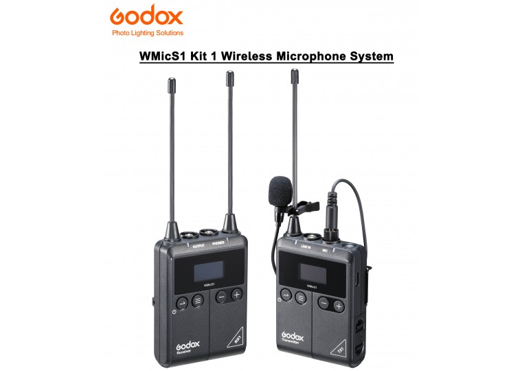 Godox WMicS1 Kit 1 UHF Wireless Microphone System