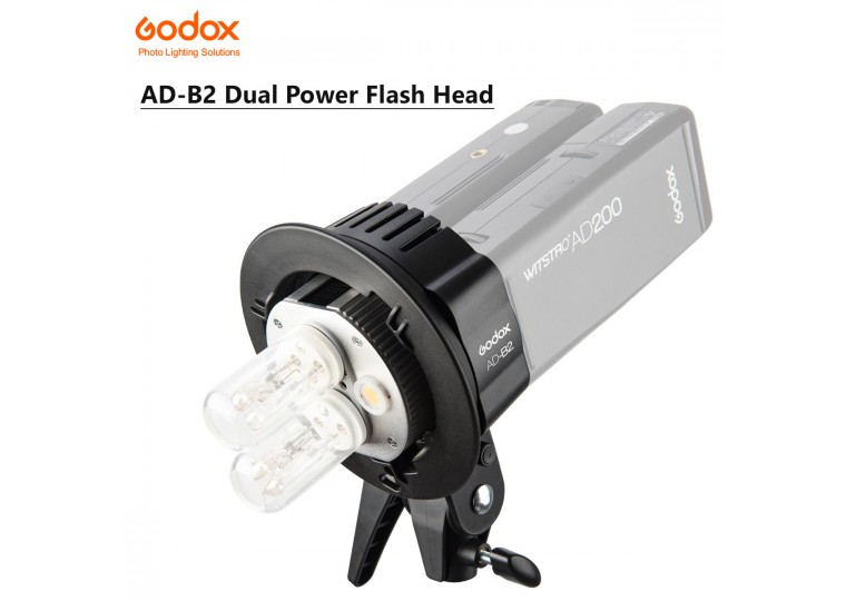 Godox AD-B2 Dual Power Flash Bracket for AD200 AD200Pro