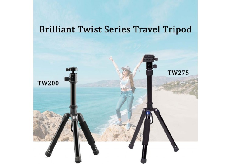 Brilliant TW200 275 Light-weight Travel Tripod