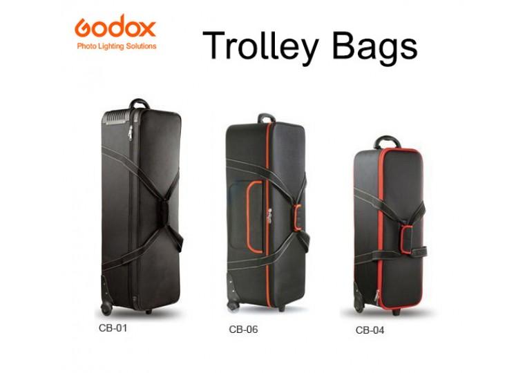 Godox CB04 CB06 CB01 Hard Carrying Case with Wheels
