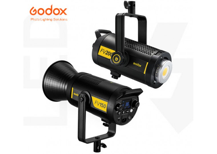 Godox FV150 FV200 High Speed Sync Flash with LED Continuous Light