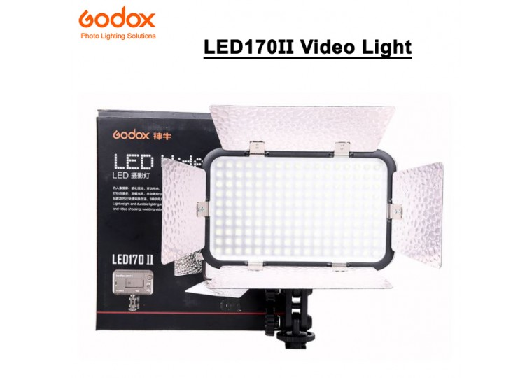 Godox LED170II On-Camera LED Video Light