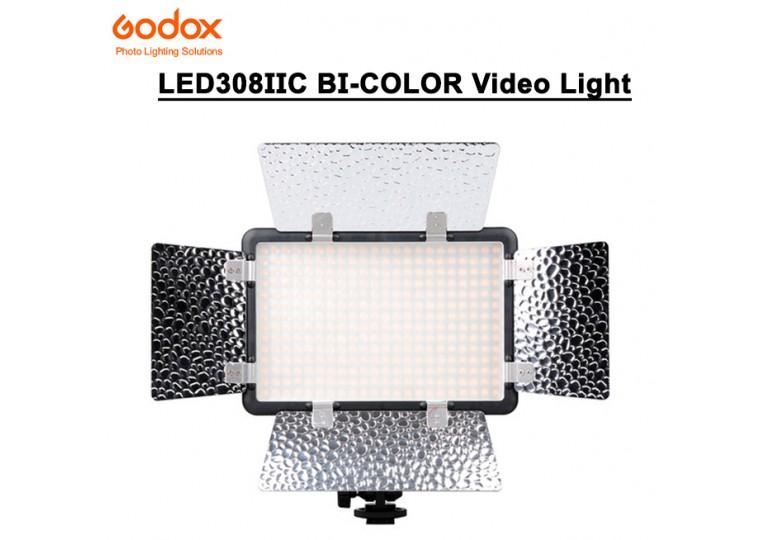 Godox LED308IIC Bi-Color On-Camera LED Video Light