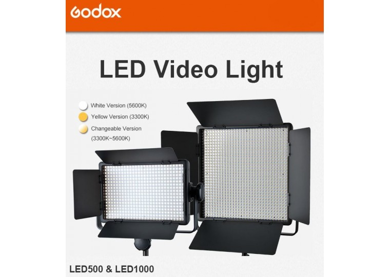 Godox LED500 LED1000 LED Video Light