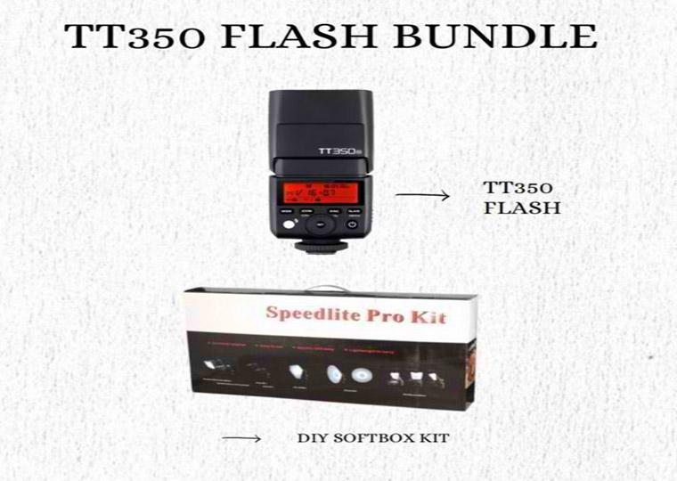 Godox TT350 Flash Bundle