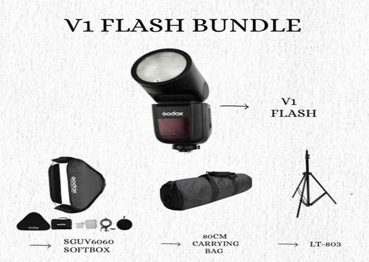 Godox V1 Flash Bundle
