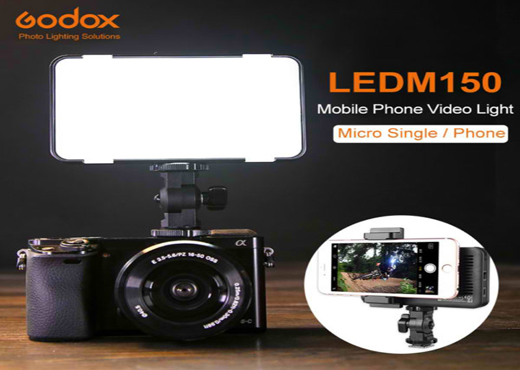 Godox LEDM150 Mobile Phone LED Video Light