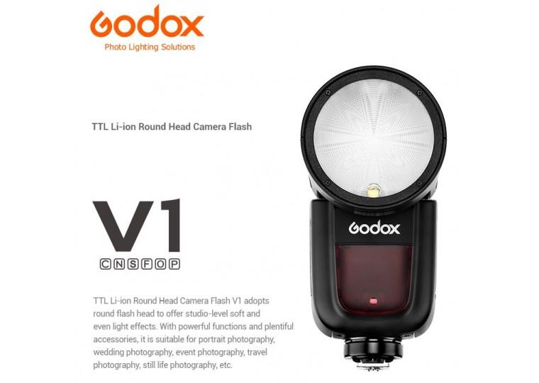 Godox V1 Round Head Flash